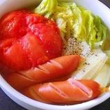 冷凍トマトのまるごとポトフ