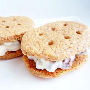 レーズンヨーグルトサンドクッキー