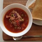 チリビーンズスープ♪