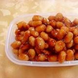 子供が喜ぶ大豆の甘辛和え