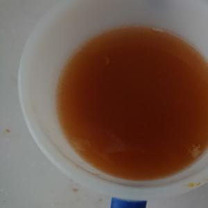 カニカマで出汁味噌汁