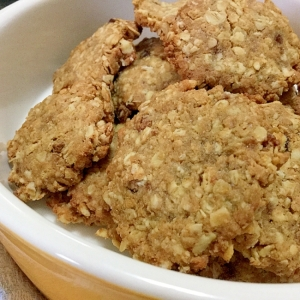 糖質制限☆大豆粉オートミールクッキー