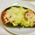 クリーミーなアボカド&トマトの簡単ココット