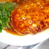 鶏ひき肉感なしで美味しい☆えのきハンバーグ