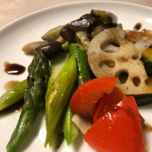 ★温野菜★ はちみつ入りのバルサミコソースがけ
