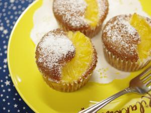 パイン缶とホットケーキミックス☆超簡単パインケーキ