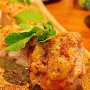 鶏の味噌ハニーマスタード焼き