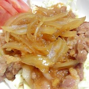 【中華ごま】で簡単味付けさっぱり生姜焼き