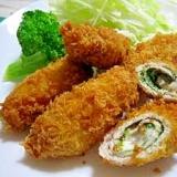 ☆豚肉の大葉・チーズロールフライ☆