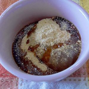 【低糖質】おおばこ水信玄餅~黒蜜ときな粉が薫る♪~