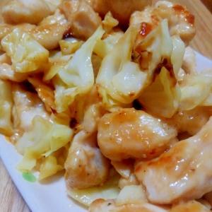 鶏ささみでさっぱり☆レモンマヨ醤油炒め