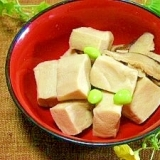 炊飯器で☆高野豆腐の含め煮