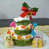 クリスマス♡ツリーケーキ♡1歳♡離乳食