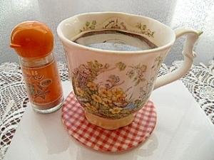 珈琲と焼酎のお湯割り