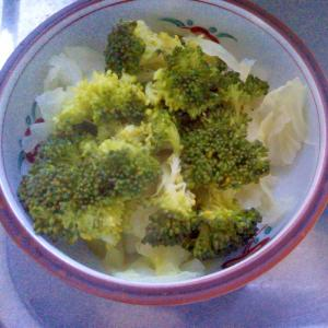 ブロッコリー&キャベツのホットサラダ