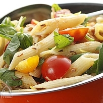 ひよこ豆とペンネのサマーサラダ