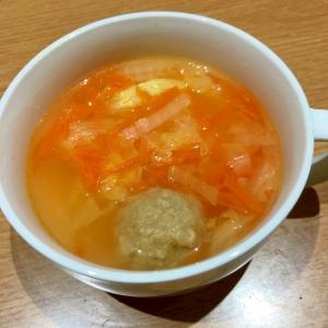 白菜と人参の肉団子スープ☆彡