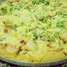 ベーコンバナナピザ