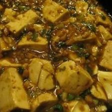 肉なし!魚肉ソーセージで麻婆豆腐