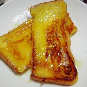 蜂蜜たっぷりフレンチトースト