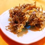 沖縄の味★もずくの天ぷら