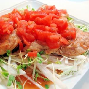 チキンのトマトドレッシング