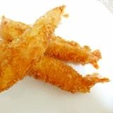 まっすぐ塩麹エビフライ