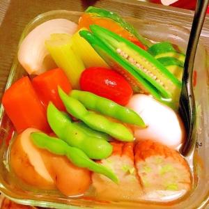 レンチン&サッと茹でて楽ちん!夏野菜の冷やしおでん