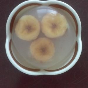 バナナ寒天♪