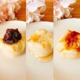 時短ꕤお好み焼き餅(あんこ、はちみつ、砂糖醤油)