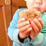 子供のおやつに♪ レンジで米ぬかソフトクッキー