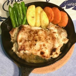 魚焼きグリルで簡単!鶏もも肉の柚子胡椒マヨネーズ