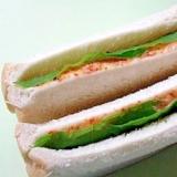 鮭マヨのピリ辛サンド