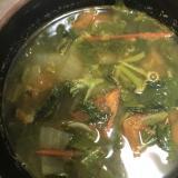 モロヘイヤのカレースープ