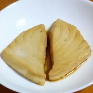 キハダマグロの煮魚