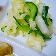 シャキシャキ白菜の和風サラダ☆