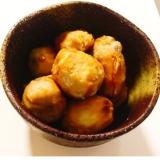 圧力鍋鍋でほくほく♬ 里芋の煮物