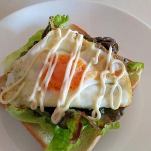 朝食に☆エッグレタストースト