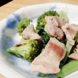 豚肉とブロッコリーの炒め物