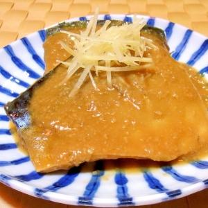 普通の鯖の味噌煮