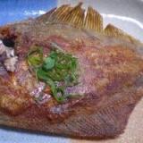 お魚食べよう!   「カレイの唐揚げ」  ♪♪