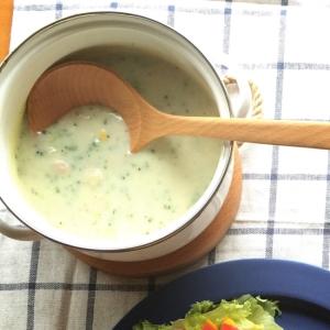 簡単!カップスープで作るブロッコリーと豆乳のスープ