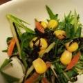 しゃきしゃき野菜とひじきとコーンのサラダ