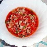 簡単トマトのサルサソース