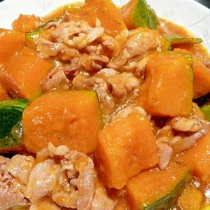 とろ〜り♪とろとろ♪豚肉とかぼちゃの煮物