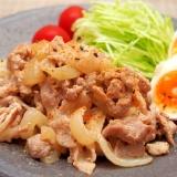 簡単節約!豚こま切れ肉の七味マヨネーズ焼き