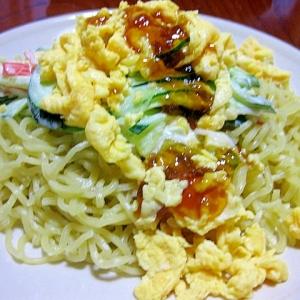 キラ☆キラ☆ジュレのサラダ冷やし中華