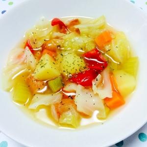 体温を上げる!食べる和風スープ