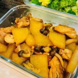 ホクホク大根と鶏肉のカンタン煮物