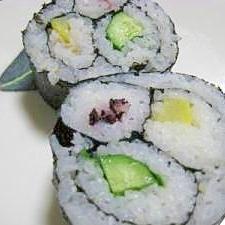 飾り太巻き寿司deひな祭り